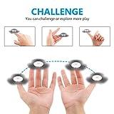 SAVFY Fidget Spinner Hand Spinner Fidget Spielzeug mit Hybrid-Keramik für Autismus EDC Bremskraftbegrenzer Entlastet und Entspannung für Kinder und Erwachsene -