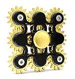 Edler Fidget Spinner 9 Zahnräder aus Metall