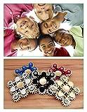 Edler Fidget Spinner 9 Zahnräder aus Metall lange Drehzeit bis 5 min + Metallbox Hand Toy Finger Spielzeug (schwarz) - 9