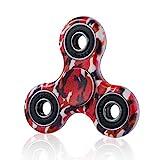 Fidget Toys Hand Tri Spinner Finger Spielzeug für Kinder und Erwachsene Spielzeug Geschenke, Bunt Motiv (Stil-1)