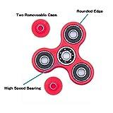 Waitiee Fidget Toys Hand Spinner Finger Spielzeug für Kinder und Erwachsene Spielzeug Geschenke (Red) -