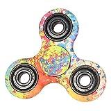 Fidget Toys Hand Spinner Finger Spielzeug für Kinder und Erwachsene Spielzeug Geschenke (Bunt)