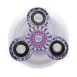 Yeah67886 Anti-Stress Fidget Spinner Profi Hand Spinner Fidget Spinner Spielzeug (Ölmalerei)
